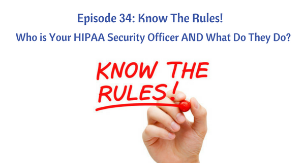 HIPAA Security Officer
