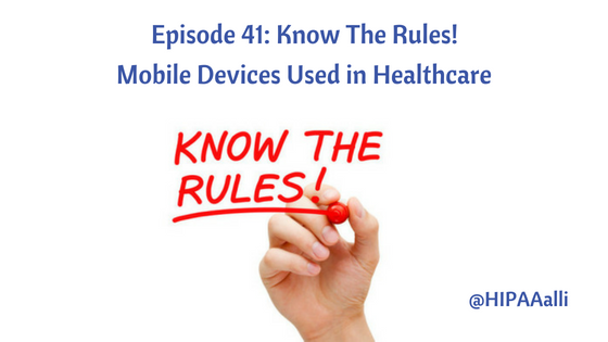 Mobile Devices Used in Healthcare