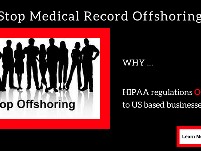 Stop Offshoring Medical Records