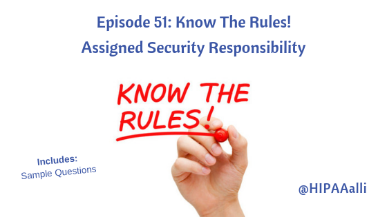 Assigned Security Responsibility