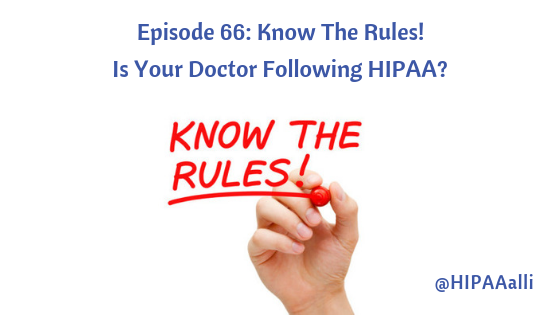 Is Your Doctor Follow HIPAA?