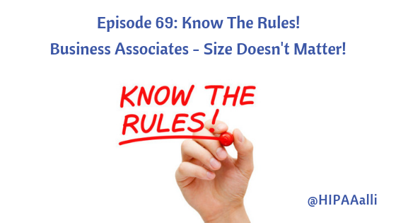 Business Associates - Size Doesn't Matter!