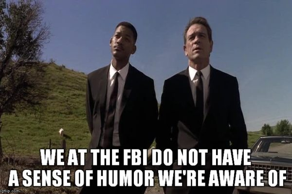 FBI Sense of Humor