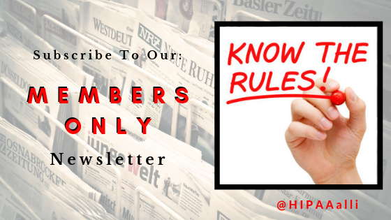 Members Only Newsletter