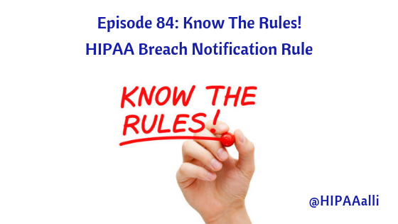 HIPAA Breach Notification Rule